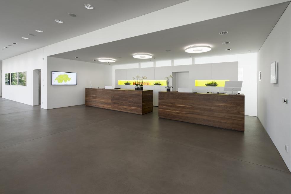 Bodarto Fugenlose Bodenbeläge, Raiffeisenbank Wohlen