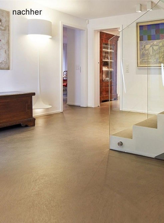 Der Eingangsbereich und Treppen wurden mit Bodarto modernisiert