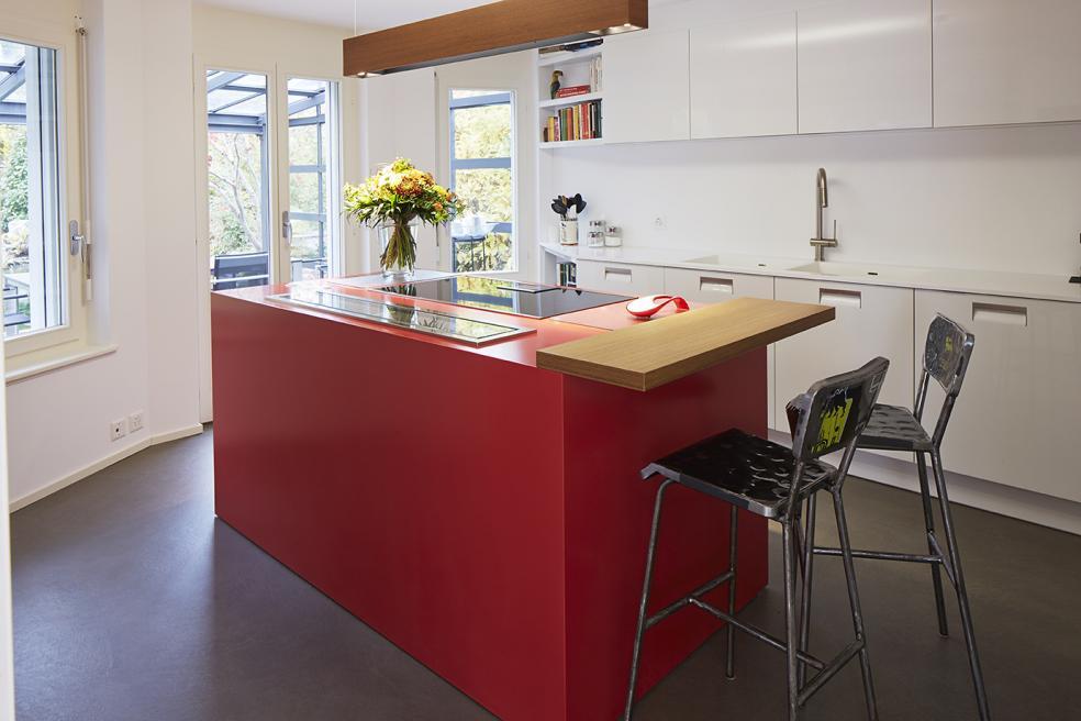 Bodarto auch für den Küchenbereich geeignet- mit grosser Fleckenresistenz