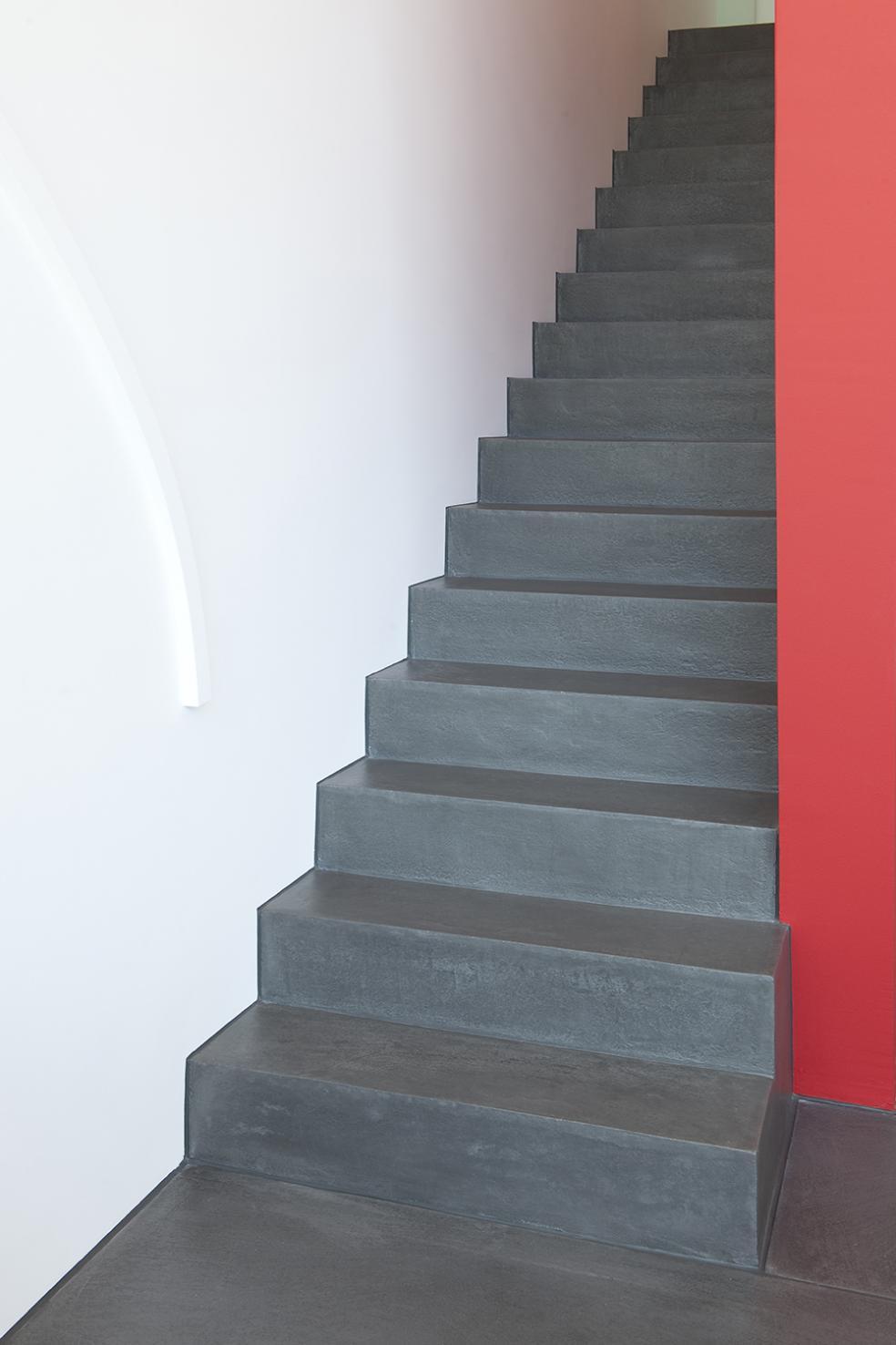 Treppen in fugenloser exclusiver Ausführung