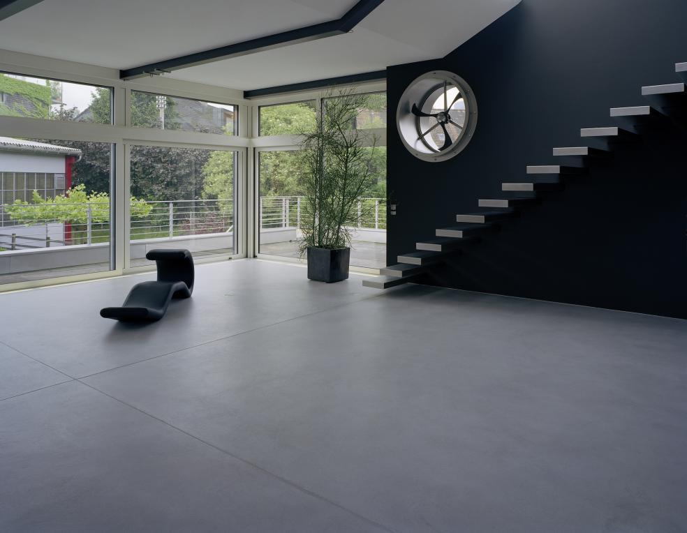 Einfamilienhaus in Altstätten in fugenlosem modernen Look